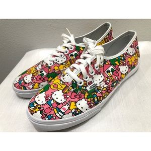 NIB Rare Limited Ed. Hello Kitty Vans